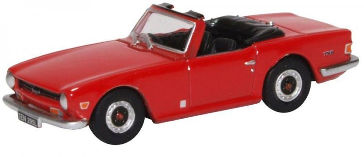 Oxford - Triumph TR6 - Signal Red - In Stock