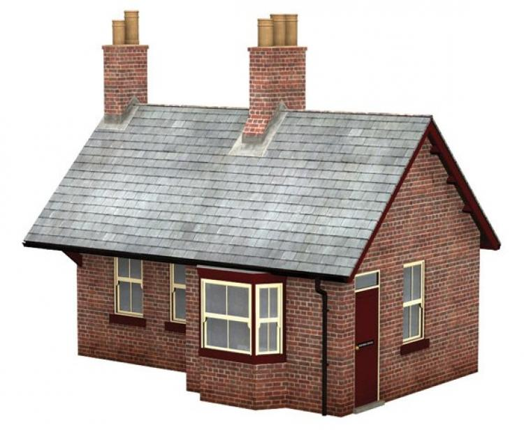 Brick Station Waiting Room - In Stock