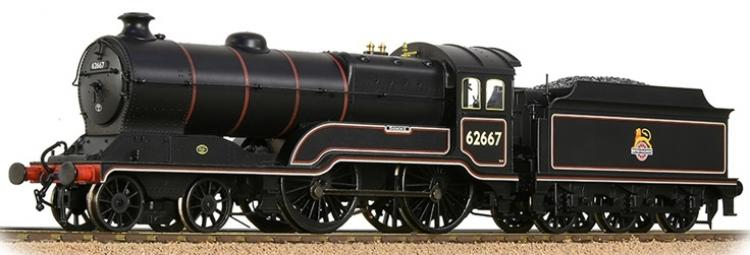 BR D11/1 4-4-0 #62667 'Somme' (Lined Black - Early Crest) - In Stock