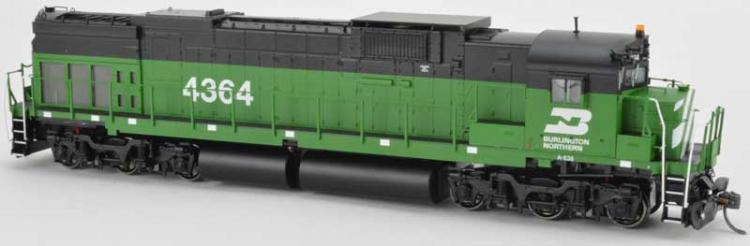 Bowser - Alco C636 - BN #4364 (Burlington Northern - Green) DCC Sound - In Stock