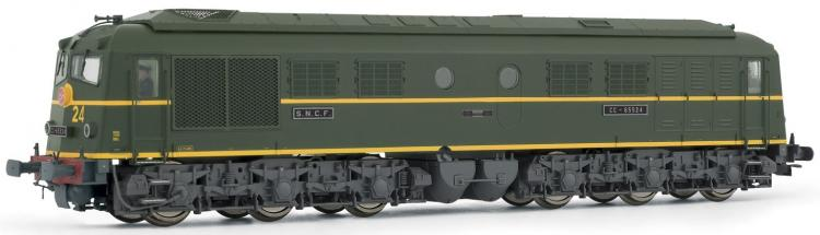 Jouef - SNCF Class CC65500 Diesel #CC-65524 (Green Livery) (Era IV) DCC Sound - In Stock