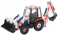 763CX002 : Oxford - JCB 3CX Eco Backhoe Loader - Union Jack - In Stock