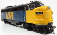 220579 : Rapido - GMD FP9A - VIA #6536 (Blue & Yellow - ex CN) DCC Sound - In Stock
